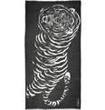 Horiyoshi the Third - Big Tiger Printed Silk and Cashmere-Blend Scarf