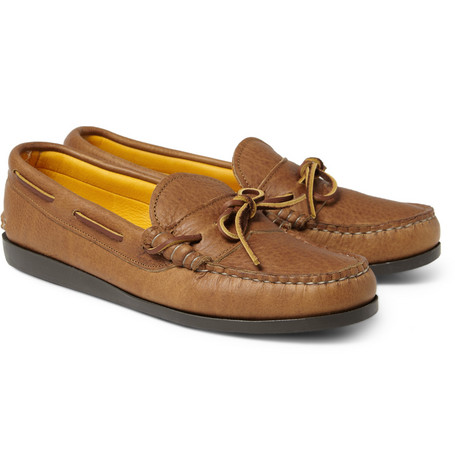 Quoddy Leather Boat Shoes