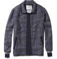 White Mountaineering - Check Lightweight Wool Bomber Jacket