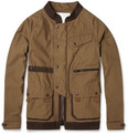 White Mountaineering Corduroy-Trimmed Cotton Jacket