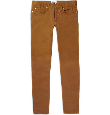 Sandro Slim-Fit Cotton-Twill Jeans