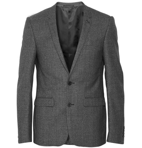 Sandro Prince of Wales Check Wool Suit Jacket