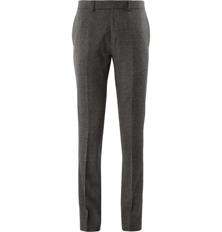 Sandro Prince of Wales Check Slim-Fit Wool Suit Trousers