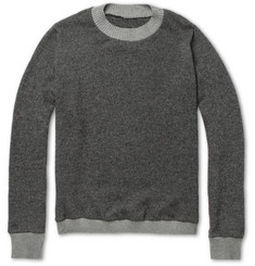 The Elder Statesman Tyro Striped Merino Wool and Cashmere-Blend Sweater