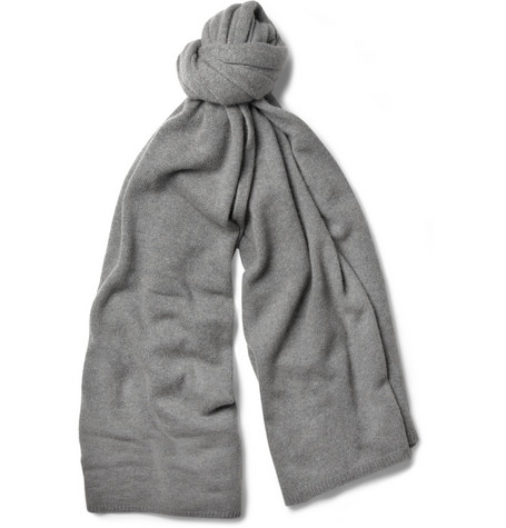 The Elder Statesman Cashmere Blanket Scarf