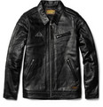 Neighborhood Vincent Leather Biker Jacket