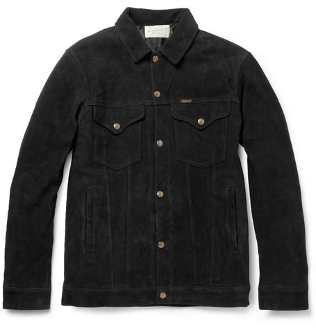 Neighborhood Stockman Suede Western Jacket