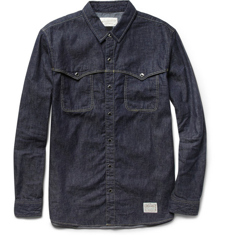 Neighborhood Rawhide Denim Shirt