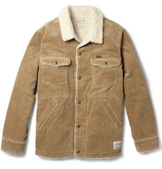 Neighborhood Corduroy and Faux Shearling Jacket
