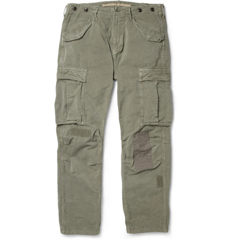 Neighborhood Washed-Cotton Cargo Trousers