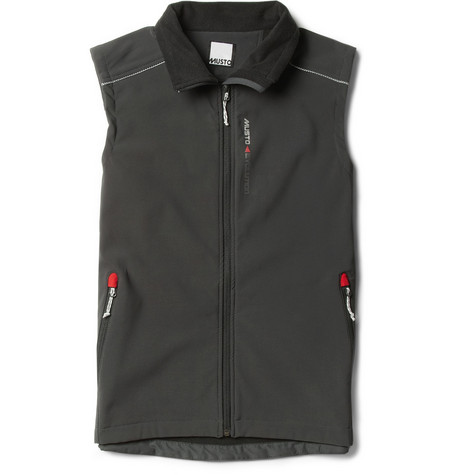 Musto Sailing Evolution Soft Shell Fleece-Lined Gilet