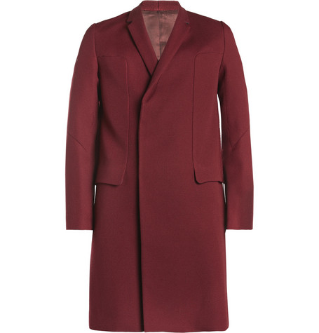 Undercover Concealed Double-Breasted Wool Coat
