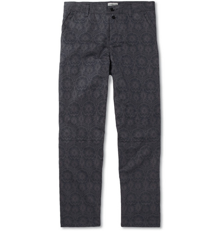 Undercover Printed Cotton Trousers
