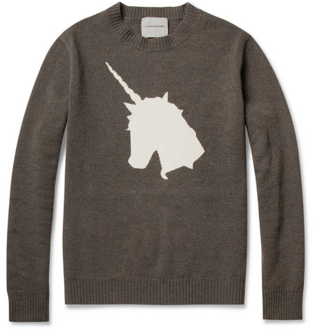 Undercover Unicorn Intarsia Wool Sweater