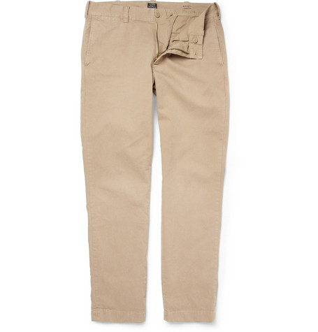 J.Crew Stanton Slim-Fit Cotton-Twill Trousers