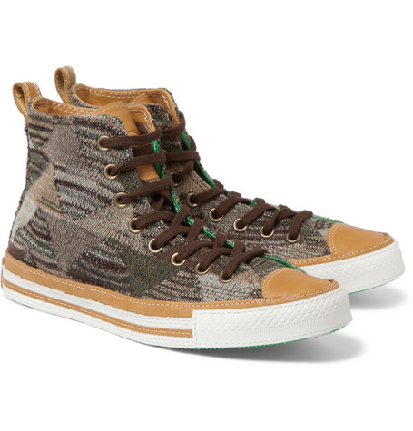Converse Missoni Chuck Taylor High Top Sneakers
