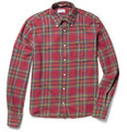 Gant Rugger Tinkering Plaid Cotton-Flannel Shirt