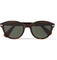 Persol Round-Frame Acetate Sunglasses