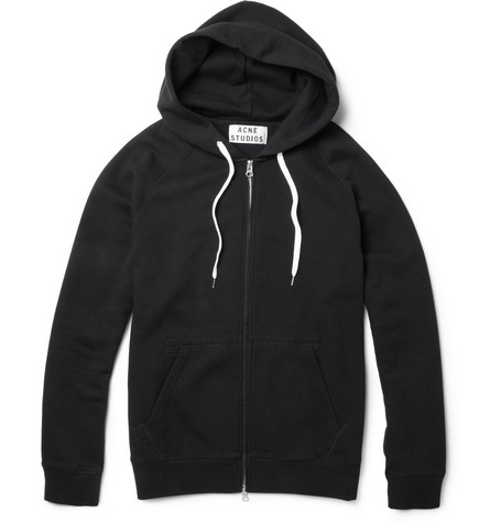 Acne Studios Exclusive College Loopback-Cotton Hoodie