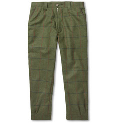 Musto Shooting Check Stretch-Tweed Cropped Breeks Trousers
