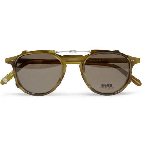 Garrett Leight California Optical Hampton Detachable Front Acetate Glasses