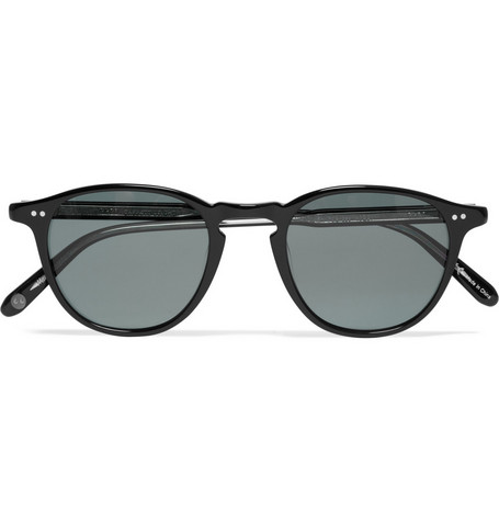 Garrett Leight California Optical Hampton D-Frame Polarised Sunglasses