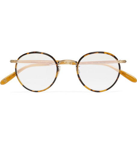 Garrett Leight California Optical Wilson Round-Frame Optical Glasses