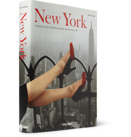 Taschen New York Portrait of a City by Reuel Golden Hardcover Book