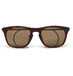 Maison Martin Margiela D-Frame Acetate and Metal Sunglasses