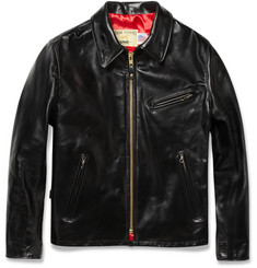 Schott Zipped Leather Jacket