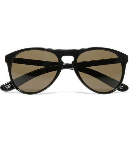 Bottega Veneta Acetate Aviator Sunglasses