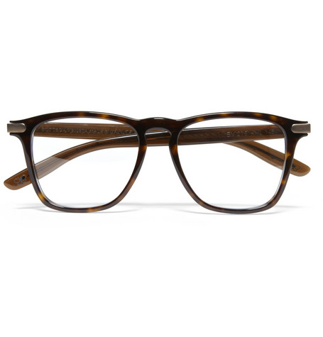 Bottega Veneta Square-Frame Acetate Optical Glasses