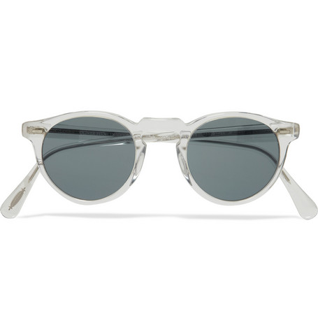 Oliver Peoples Gregory Peck Photochromic Acetate Sunglasses