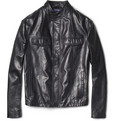 Etro - Slim-Fit Leather Jacket