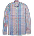 Etro Check Cotton Shirt