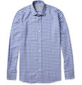 Etro Gingham-Check Cotton Shirt