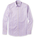 Etro - Slim-Fit Striped Cotton Shirt