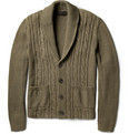 Etro - Cable-Knit Cotton Cardigan