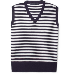 Etro Striped Cashmere Vest