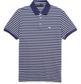 Etro Striped Cotton-Piqué Polo Shirt