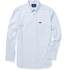 Faconnable Striped Button-Down Collar Cotton Shirt