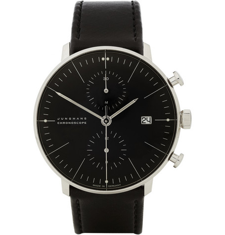 Junghans x Max Bill Stainless Steel Automatic Chronograph Watch