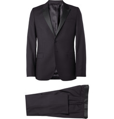 PS by Paul Smith Navy Wool and Mohair-Blend Tuxedo