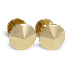 Alice Made This Thomas 24-Karat Gold-Plated Brass Cufflinks