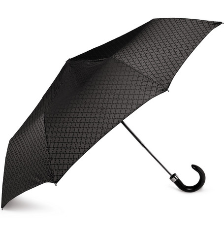 Gucci Diamond-Patterned Collapsible Umbrella