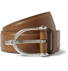 Gucci Horsebit-Buckle Leather Belt