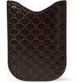 Gucci - Embossed Leather IPhone Cover