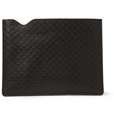 Gucci Embossed-Leather iPad Sleeve