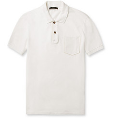 Gucci Cotton-Piqué Polo Shirt
