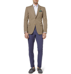 Gucci Slim-Fit Cotton-Gabardine Blazer